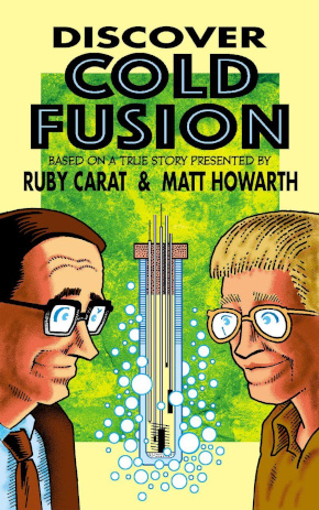 Discover Cold Fusion Comic Book Cover